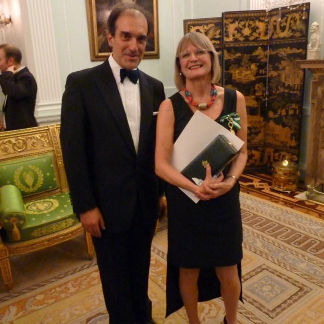 Carlos Quintas mit Jancis Robinson